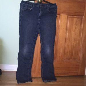 Levi's 505 straight leg blue jeans sz 10